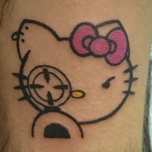 Tatouage Kitty